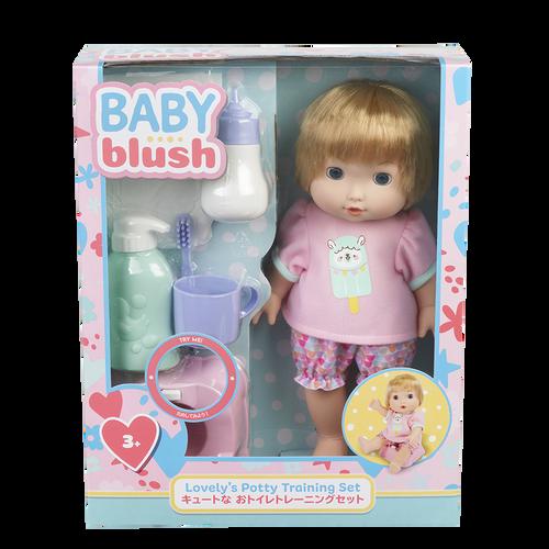 Baby Blush 親親寶貝  可愛的小坐廁訓練套裝