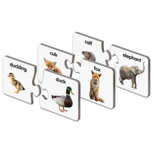 The Learning Journey動物家族配對拼圖