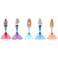 Barbie芭比 驚喜造型娃娃美人魚系列 - 隨機發貨
