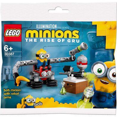 LEGO樂高迷你兵團系列Bob Minion with Robot Arms 30387