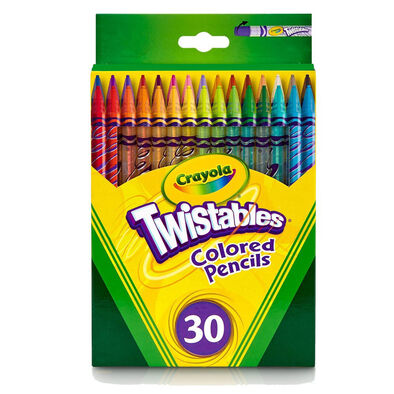 30 Ct. Twisable Colored Pencils