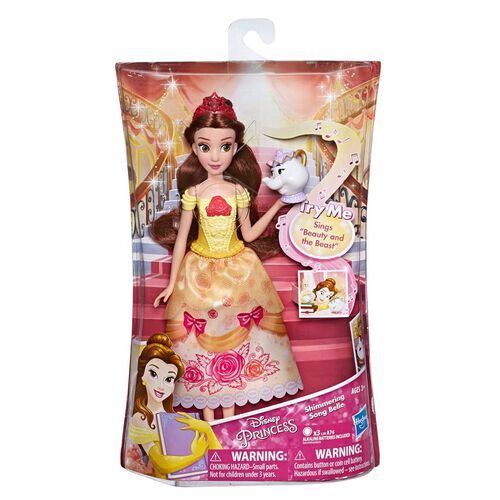 Disney Princess迪士尼公主 貝兒公主唱歌玩偶