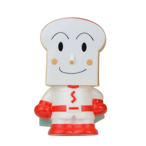 Anpanman麵包超人發聲軟膠公仔-方包超人