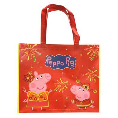 Peppa Pig粉紅豬小妹 新年限量版環保袋