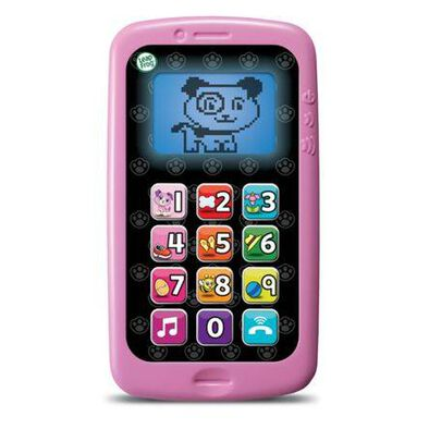 Leapfrog跳跳蛙 數數聰明小手機 紫色