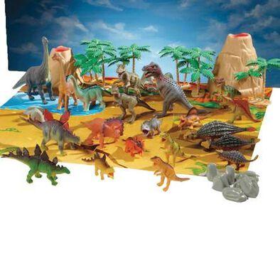Animal Zone動物叢林 大桶裝恐龍組合