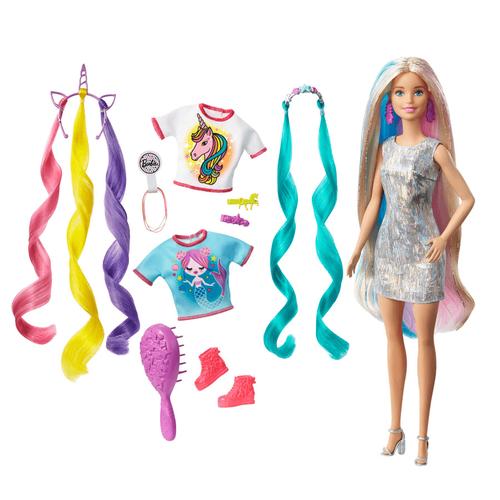 Barbie芭比 夢幻髮型組
