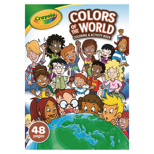 Crayola繪兒樂 世界色彩塗鴉本