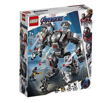 LEGO樂高漫威超級英雄系列 LEGO Marvel Avengers War Machine Buster 76124