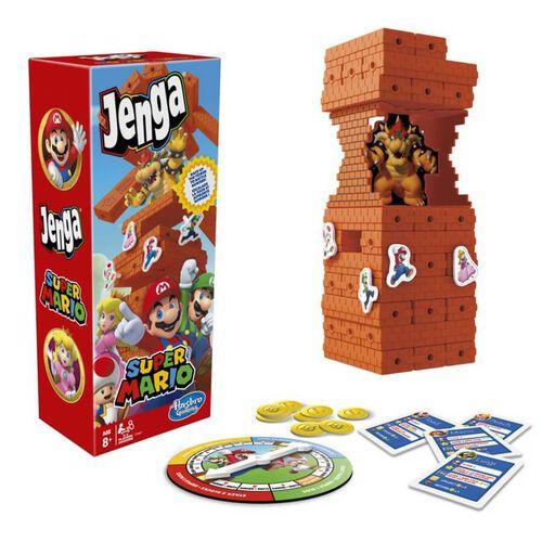 Hasbro Gaming孩之寶遊戲 層層疊-超級瑪利歐