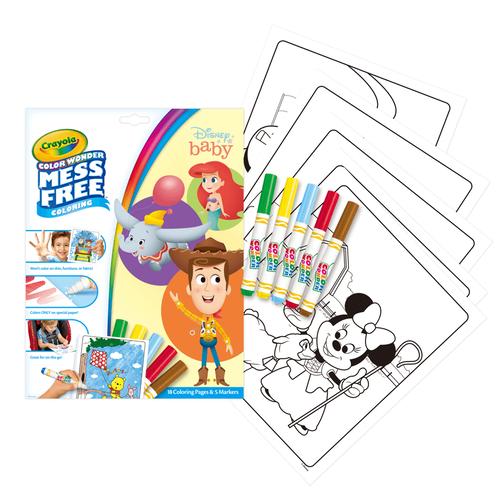 Crayola繪兒樂 迪士尼寶寶神奇顯色系列
