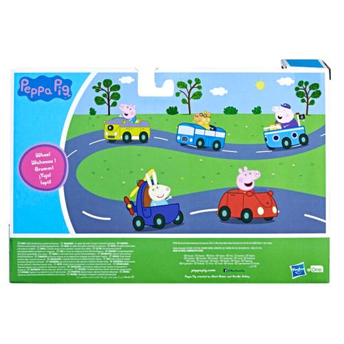 Peppa Pig粉紅豬小妹與好友迷你交通工具