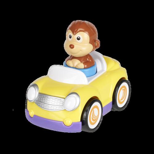 Top Tots智叻寶貝 悠走小賽車-猴子