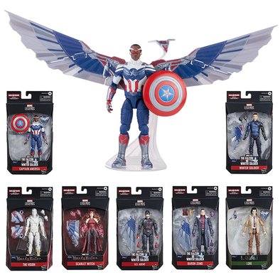 Marvel Legends Falcon set with 7 figures