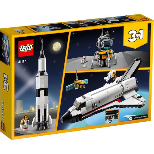 LEGO樂高創意系列 太空穿梭機冒險 31117