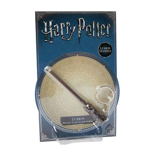 Harry Potter哈利波特魔法世界: 發光魔法棒鑰匙扣