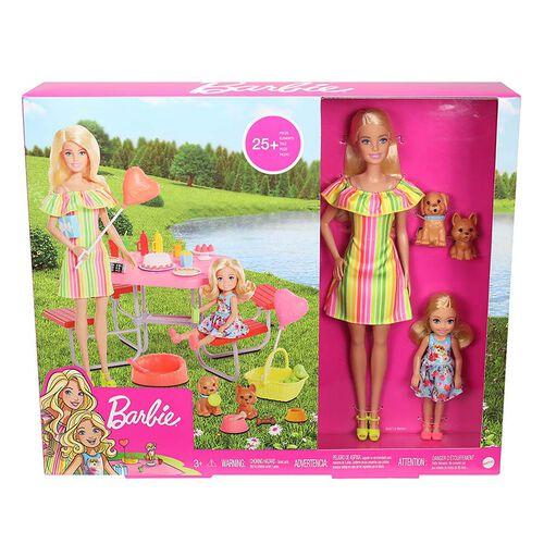 Barbie芭比 與小凱莉野餐組合