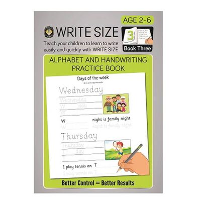 Write Size 學習冊 3