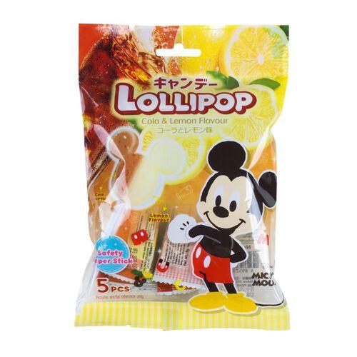 Disney迪士尼 米奇可樂檸檬味棒棒糖