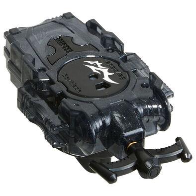 Beyblade爆旋陀螺b-141 透明黑長弦爆旋發射器l