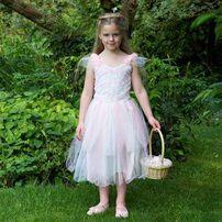 Travis Designs玫瑰印花仙子裙 6-8歲