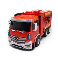 Konsept 遙控及聲控變形消防車