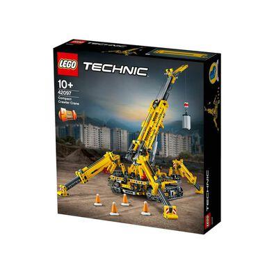 LEGO樂高機械組系列伸縮臂履帶起重機 42097