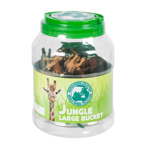World Animal Collection 大圓桶裝森林動物組合