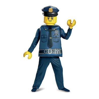 LEGO樂高警察服裝豪華版 (細碼)