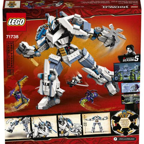 LEGO Ninjago Zane's Titan Mech Battle  -  71738