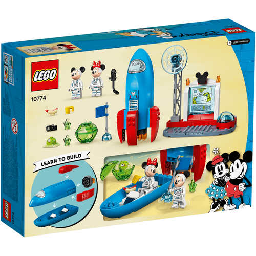 LEGO樂高迪士尼系列 Mickey Mouse & Minnie Mouse's Space Rocket 10774