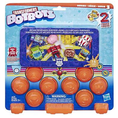 Transformers變形金剛botbots 電子遊戲背叛者驚喜套裝16 隻玩偶 - 隨機發貨