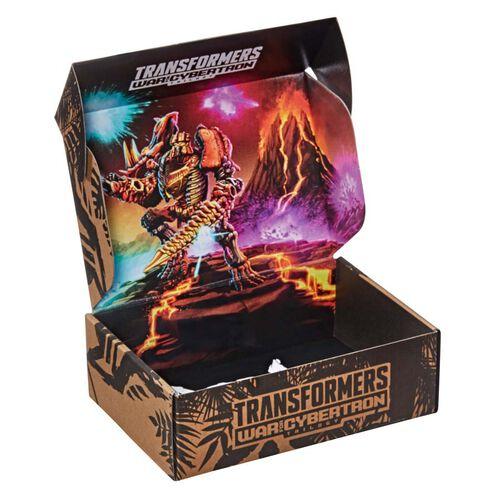 Transformers變形金剛Generations 系列 斯比頓之戰 豪華級別 WFC-K39 Tricranius Beast Power 收藏套裝