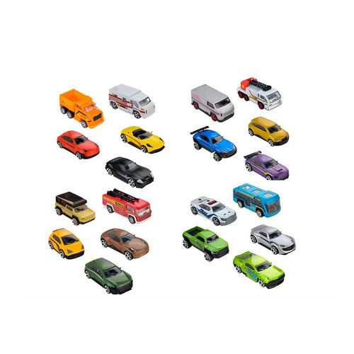 Fast Lane極速快線 Fast Lane極速快線 10 Pack Die Cast Vehicles 隨機發貨