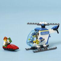 LEGO樂高城市系列 警察直升機 - 60275