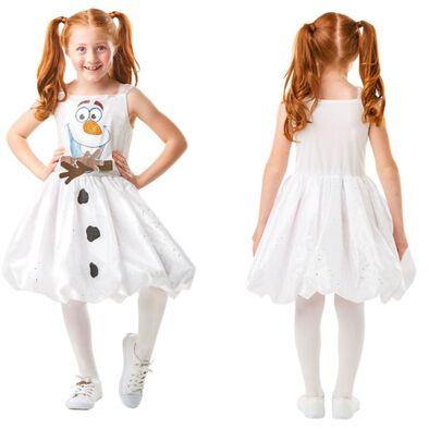 Disney Frozen迪士尼魔雪奇緣 2 小白連身裙 (中)