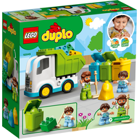 LEGO樂高得寶系列 垃圾車和回收利用 10945