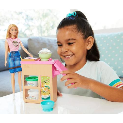 Barbie芭比拉麵店組合連娃娃