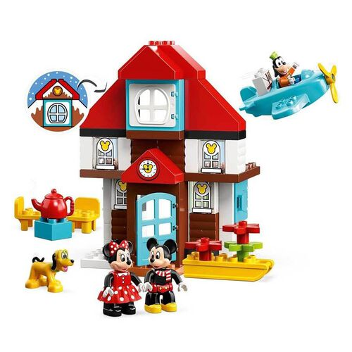 LEGO樂高得寶系列 LEGO Duplo Mickey's Vacation House 10889
