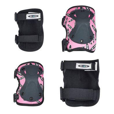 Micro Mobility Micro 護腕及護膝套裝 粉紅色 中碼
