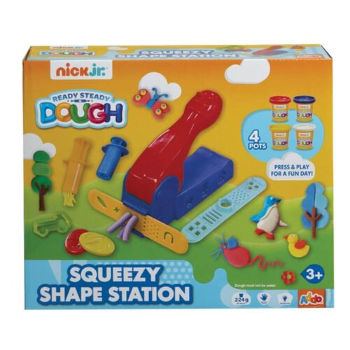 Nick Jr Ready Steady Dough 造型創意工作坊