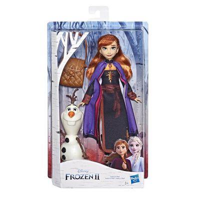 Disney Frozen迪士尼魔雪奇緣 2 時裝玩偶與好朋友 - 隨機發貨