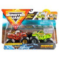 Monster Jam瘋狂大腳怪︰1:64 卡車兩件裝 - 隨機發貨