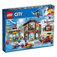 LEGO樂高城市系列小城滑雪場 60203