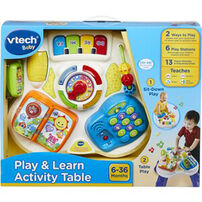 Vtech偉易達 2合1繽紛學習桌