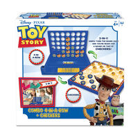 Toy Story反斗奇兵 遊戲套裝 四子連環棋+西洋跳棋