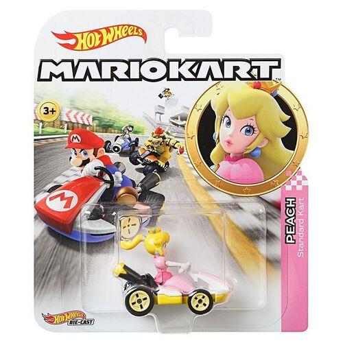 Hot Wheels風火輪mario Kart合金車系列 - 隨機發貨