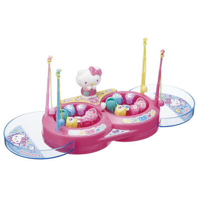 Sanrio三麗鷗 Hello Kitty迷你轉轉釣魚樂