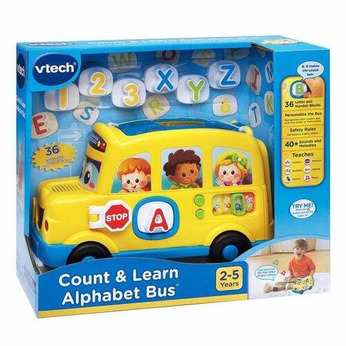 Vtech偉易達 Chcount & Learn Alphabet Bus