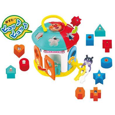 Anpanman麵包超人嬰兒形狀及鎖匙拼圖樂